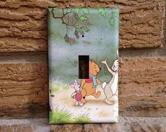 Winnie The Pooh Nursery Art The Hundred Acre Woods Vintage