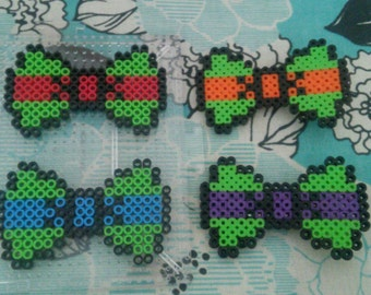 Ninja Turtle hair bow