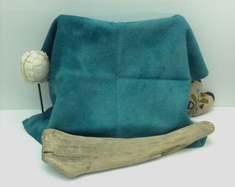 Dark Teal Hand Dyed Wool for Rug Hooking and Wool Applique