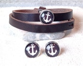 Jewellery anchor white / black