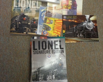 Lionel train catalogs medium flat rate boxes full nice shape, 10 pounds or more