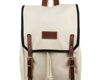 Sierra Levanto Backpack. Mediterranean Inspired. Nautical bag . Men's Backpack