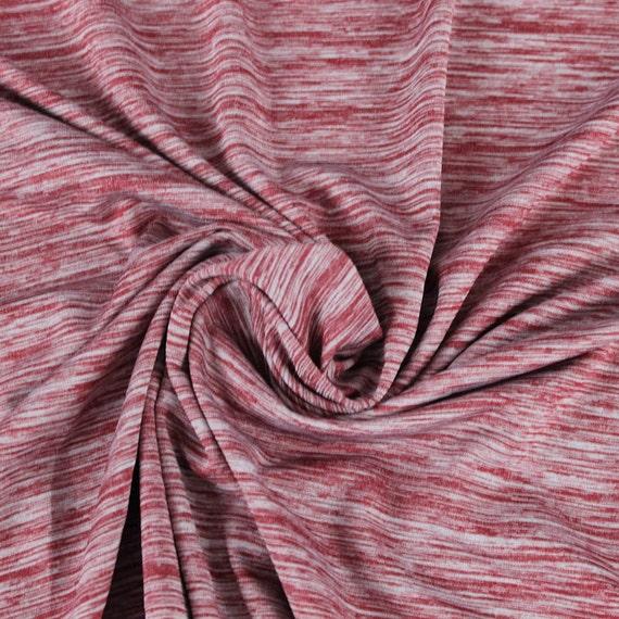 Ruby space dye poly spandex performance knit fabric for for Space dye knit fabric by the yard