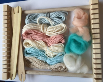 Weaving Textiles for small loom