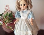 "Royal Porcelain Doll - Vintage 12"" Collectible Doll by Royal"