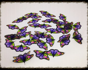 Monarch Vellum Butterflies