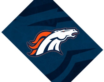 Passport Cover Case Holder -- Denver Broncos