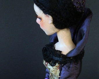 "OOAK Art doll,  Jointed doll,  handmade doll   ""Cecilia"""