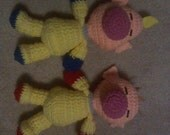 Olimar and Louie Crochet Plushes