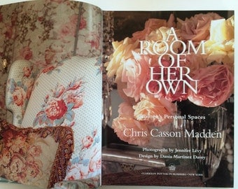 A Room of Her Own Hardcover Book Ali McGraw womens spirituality personal spaces interior design (BX1)