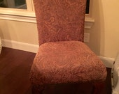PROGRESS PAYMENT on custom order dining chairs