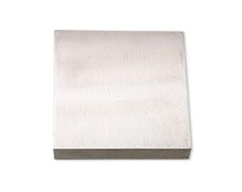 """Beadsmith - Bench Block 4""""x4""""   Metal Stamping Jewellery bench Block   Stamping Block    Metal Stamping"""