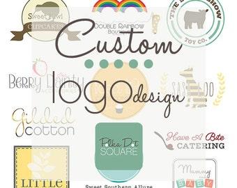 Custom logo design OOAK One of a Kind Business branding Etsy logo Photography logo Jewelry logo Hand crafted Handmade Boutique logo design