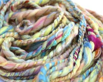 Sunshine Daydream - Handspun Art Yarn wool - 1.6oz/20yards