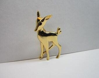D'Orlan Deer Brooch