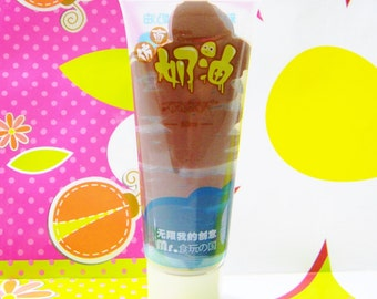 Sale CHOCOLATE Fake Whipped Cream 50 ml Tube Diy Brown Fake Frosting Decoden Plus Free Icing Tip