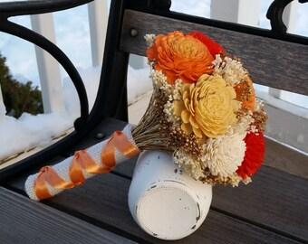 Sola flower bouquet - Made to order, Wedding bouquet, Alternative bouquet