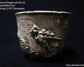 Bonsai Dragon Pot  No 22,  sculpture 09/2016