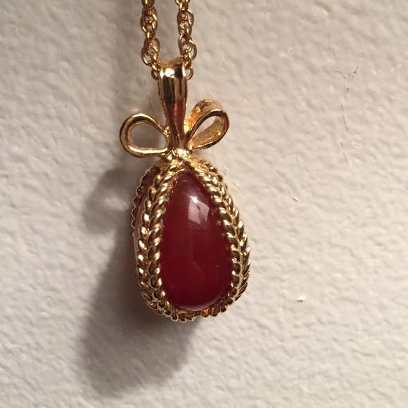 Joan rivers egg necklace caramel color s1813 for Joan rivers jewelry necklaces