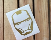 Iron Man Vinyl Decal Sticker