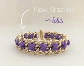 NEW SHADE - Cross Weave in Lotus - Summer Collection