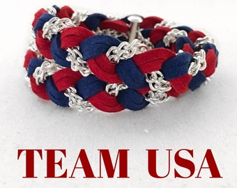 2016 Olympic Games - TEAM USA - Braided Double Wrap