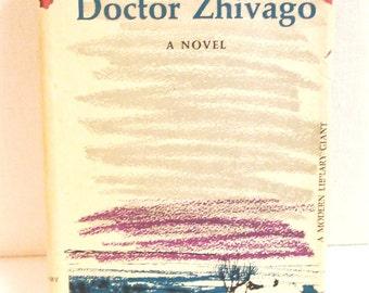 Doctor Zhivago Boris Pasternak HB DJ Modern Library Books 1958