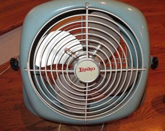 Vintage Turquoise Lasko Fan