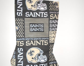 New Orleans Saints Christmas stocking