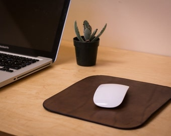 Leather Mouse Pad   Walnut