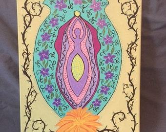 Goddess Power Painting
