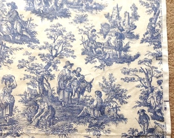 Waverly Toile Fabric Etsy