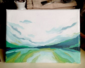 Vast White Sky- Original Painting