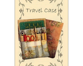 """Pattern """"Travel Case"""" by P3 Designs (116) Sewing Pattern Sewing Tool Case"""