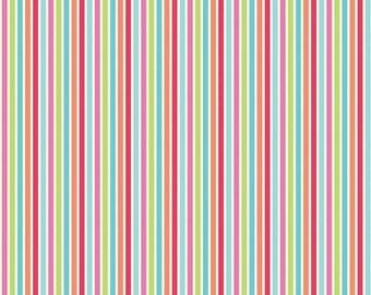 30% OFF Flutteberry Stripe (C4595-MULTI) Riley Blake - Yardage