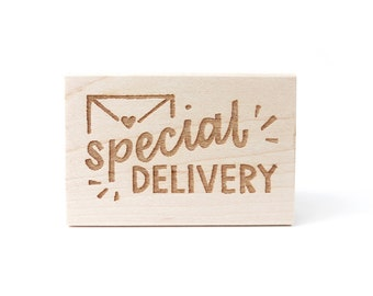 Rubber Stamp - Special Delivery
