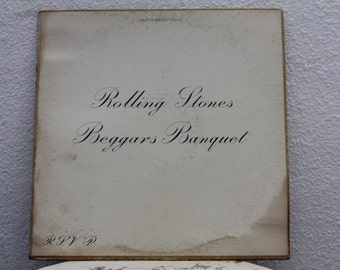 "The Rolling Stones - ""Beggars Banquet""  vinyl record (NT)"
