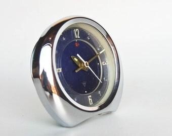Retro Alarm Clock / Vintage  Polaris Made in China Desk Clock