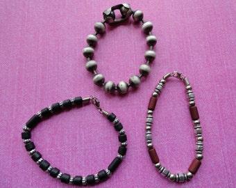 Lot of 4 industrial  bracelets   50% OFF