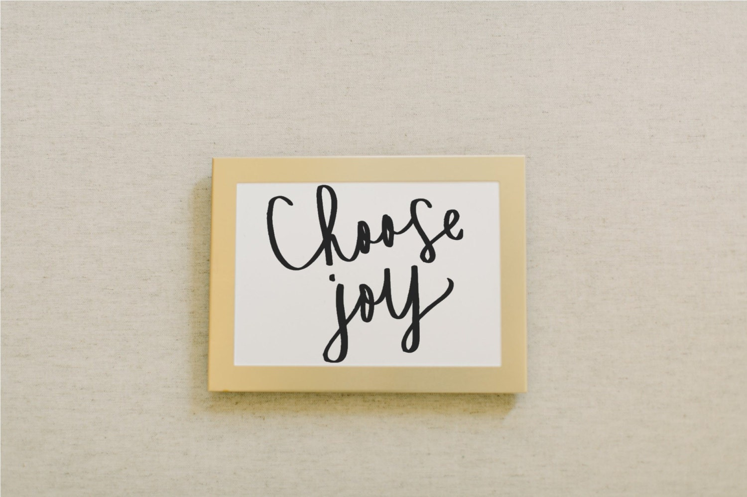 Calligraphy print choose joy by pcbhome on etsy