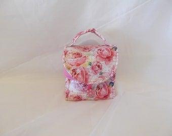 Mug Bag, Pink Roses,  Small