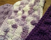 25% off - 3 Crochet Swiffer covers in purple tones, swiffer duster, swiffer mop, reusable Swiffer pad,  Swiffer sweeper