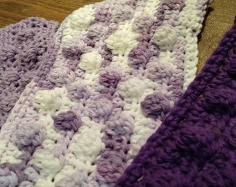 Crochet Swiffer covers in purple tones, swiffer duster, swiffer mop, reusable Swiffer pad,  Swiffer sweeper