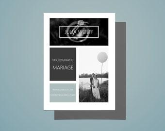Flyers - Photographe - Graphique et design