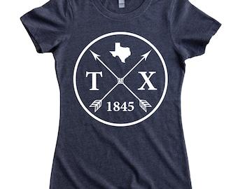 Homeland Tees Texas Arrow Women's T-Shirt