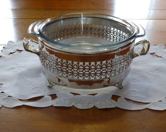 Silver plated Serving dish holder