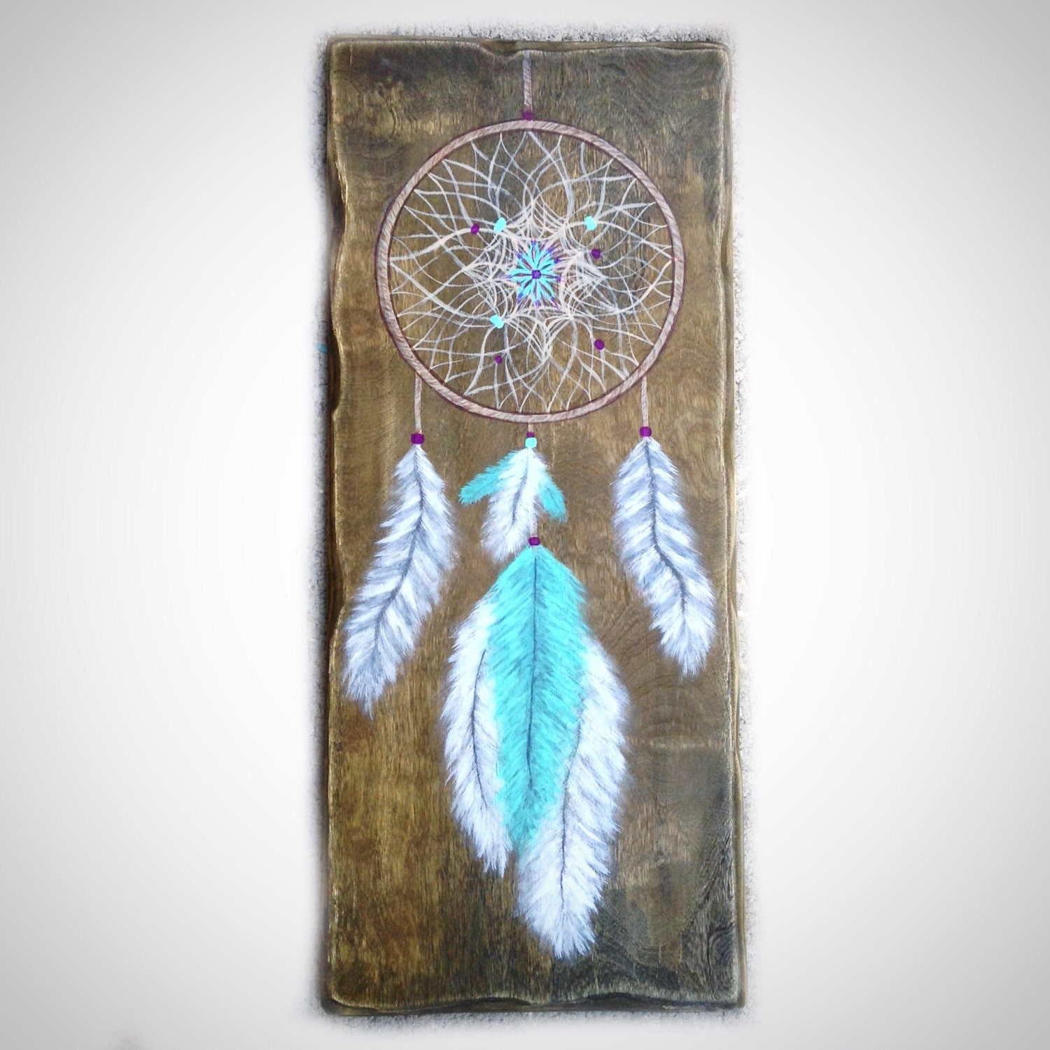 Dream catcher southwestern decor bohemian wall art for Decor dreams