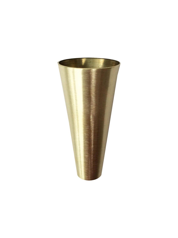 Round Brass Sabot Metal Leg