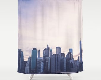 Curtains Ideas cityscape shower curtain : Nyc shower curtain | Etsy