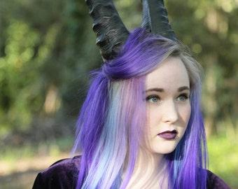 Krampus costume horns